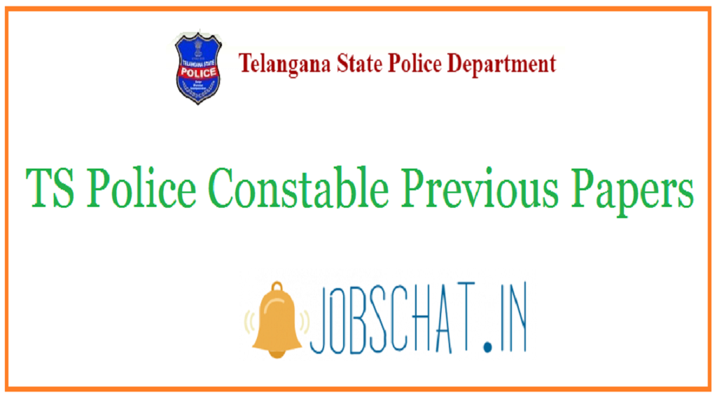 TS Police Constable Previous Papers
