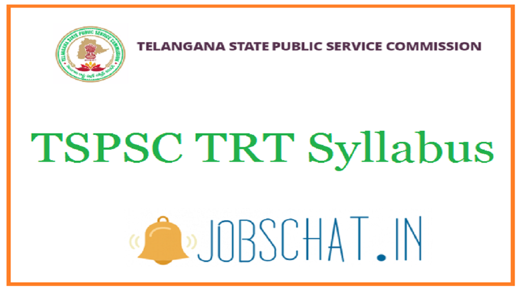 TSPSC TRT Syllabus