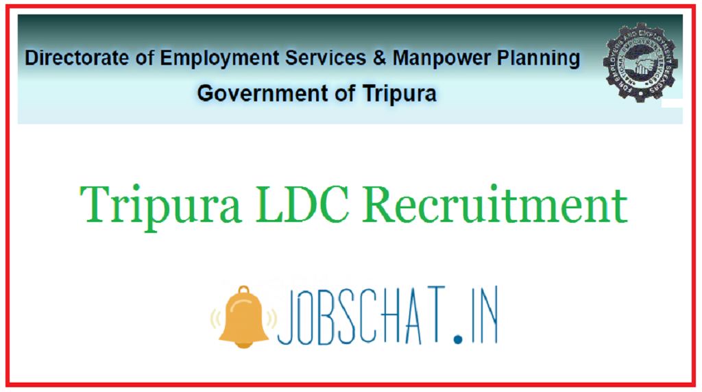 Tripura LDC Recruitment