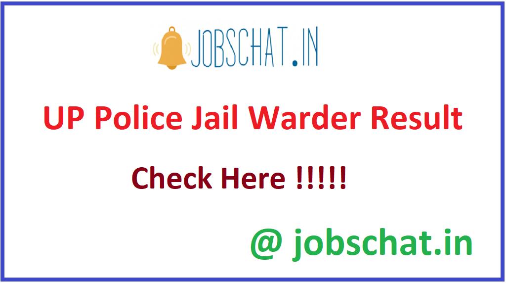 UP Police Jail Warder Result