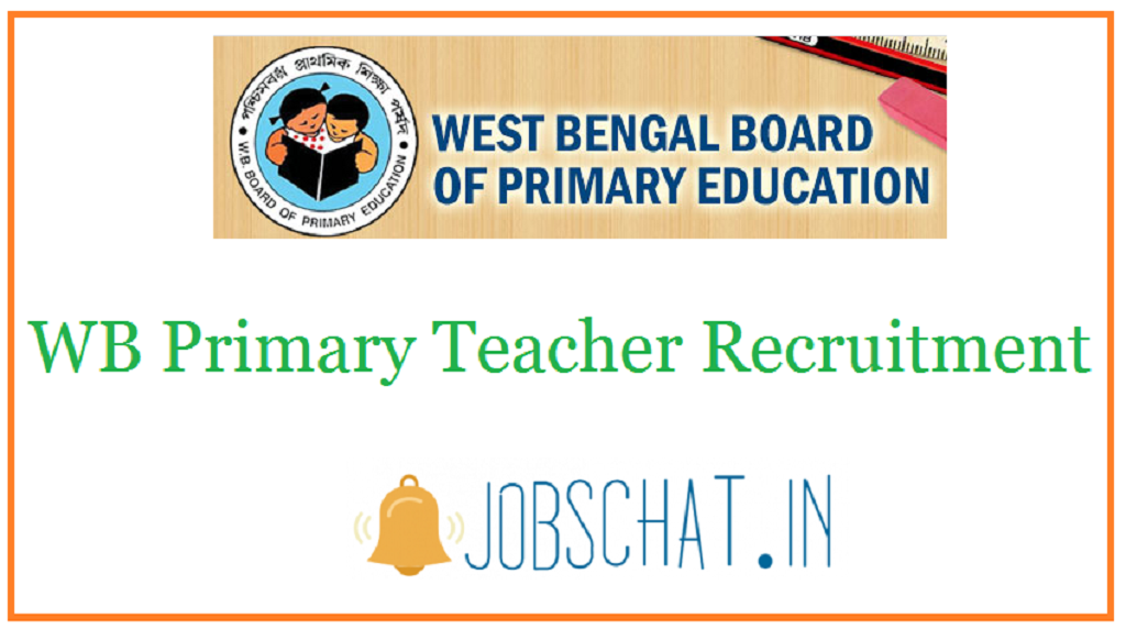 WB Primary Teacher Recruitment