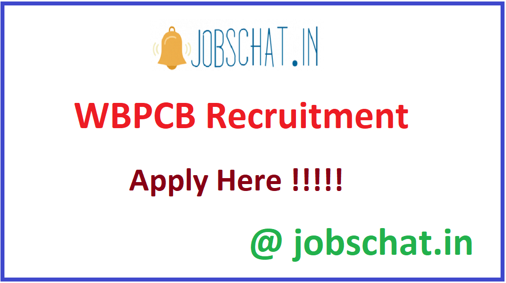 WBPCB Recruitment