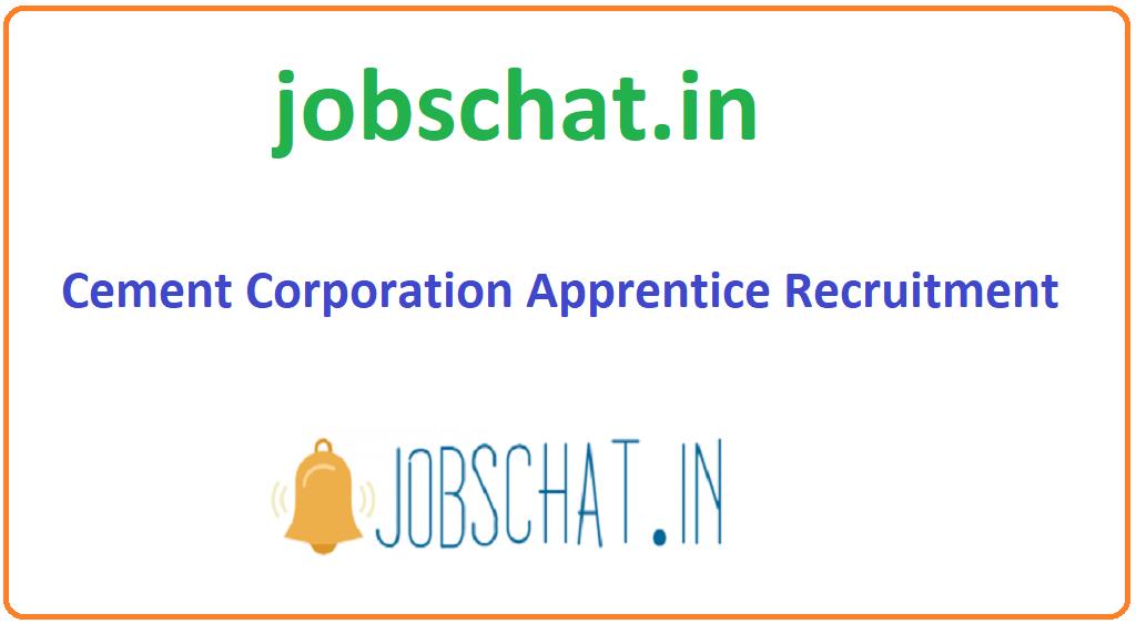 Cement Corporation Apprentice Recruitment
