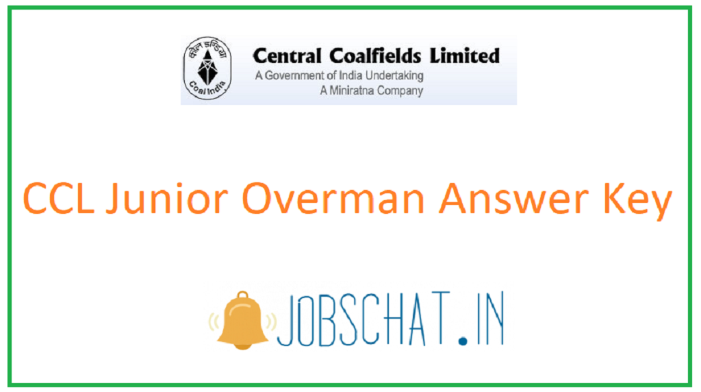 CCL Junior Overman Answer Key