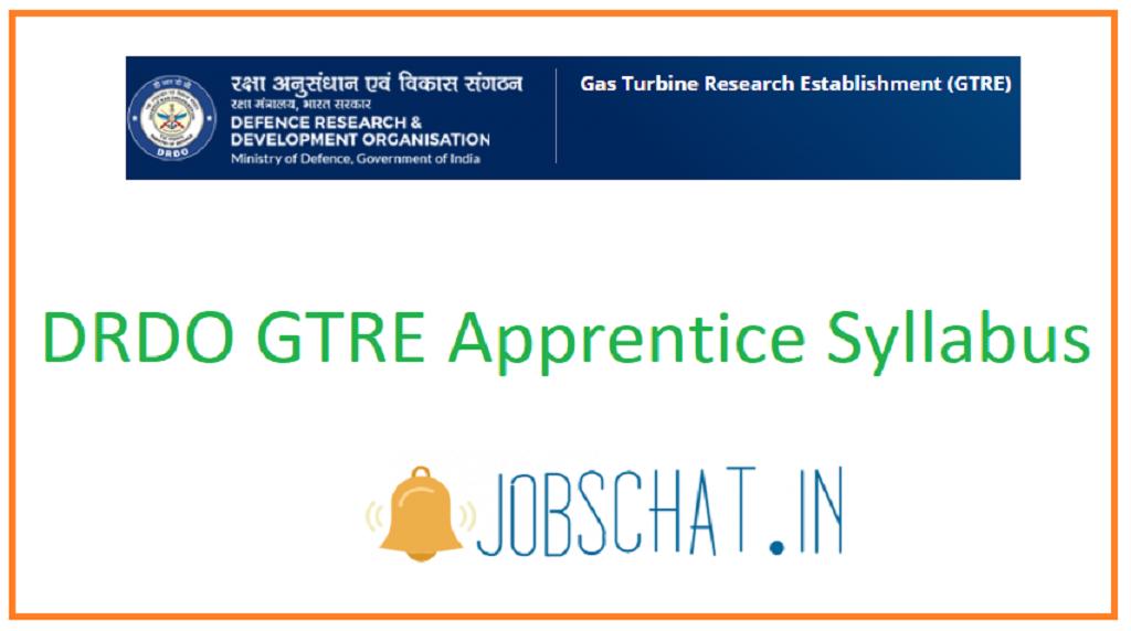 DRDO GTRE Apprentice Syllabus