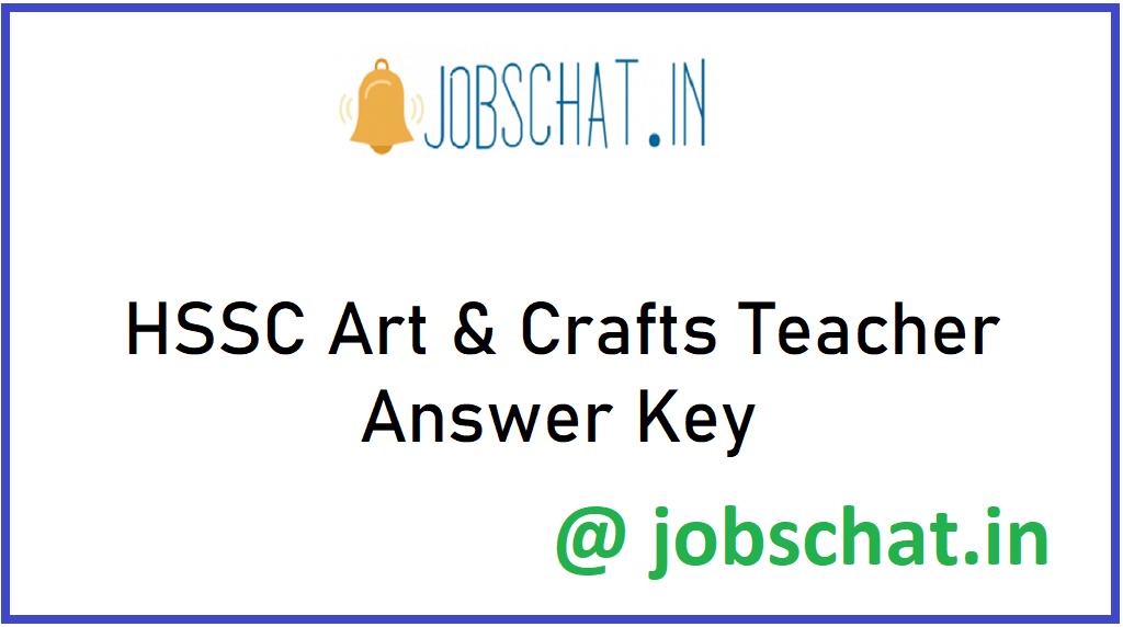 HSSC Art & Crafts Teacher Answer Key