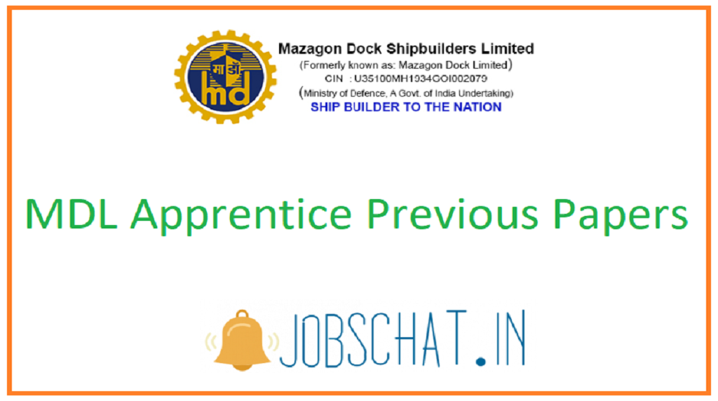 MDL Apprentice Previous Papers