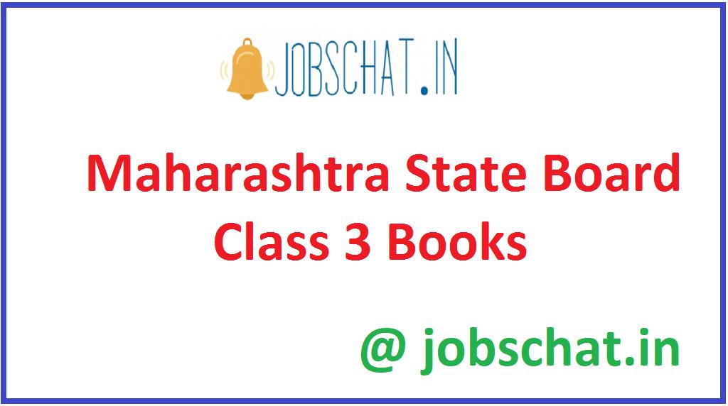 Maharashtra State Board Class 3 Books