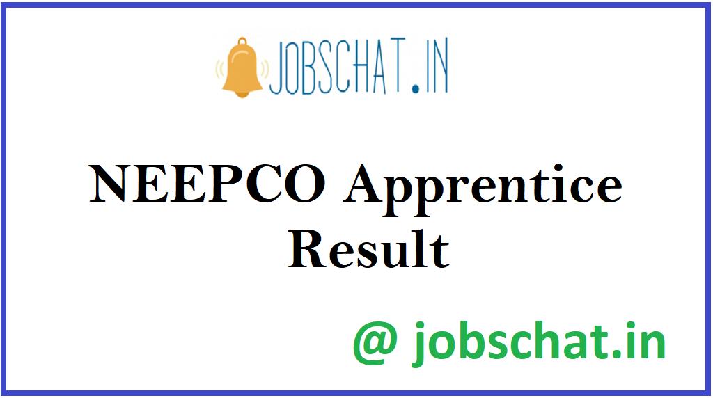 NEEPCO Apprentice Result