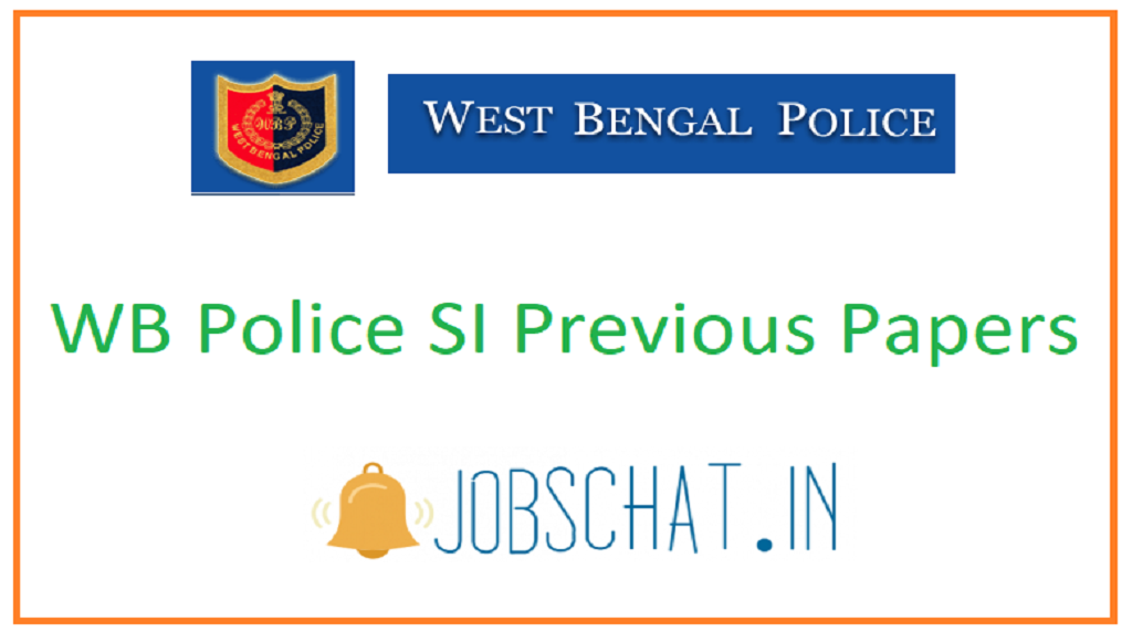 WB Police SI Previous Papers
