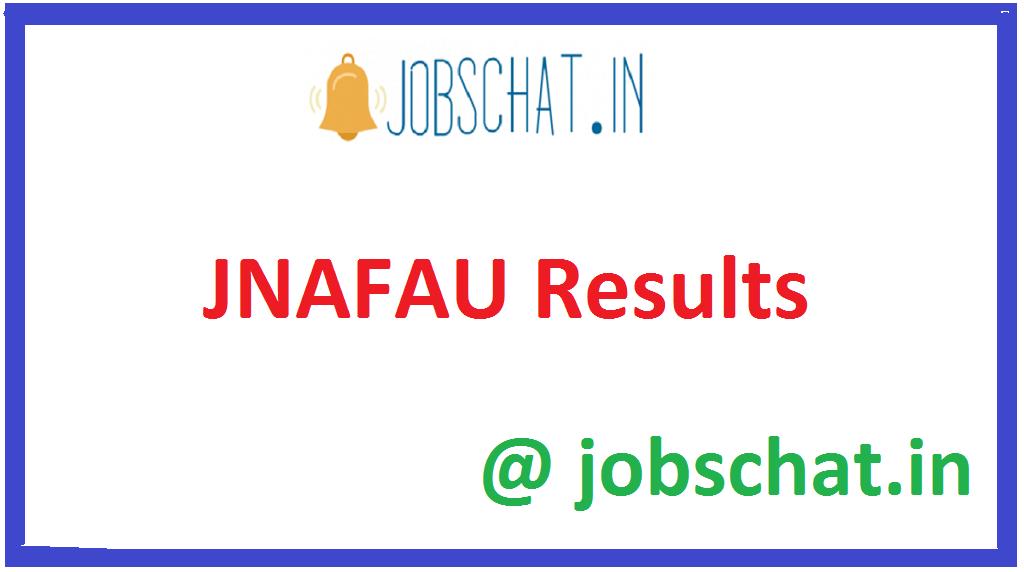 JNAFAU Results