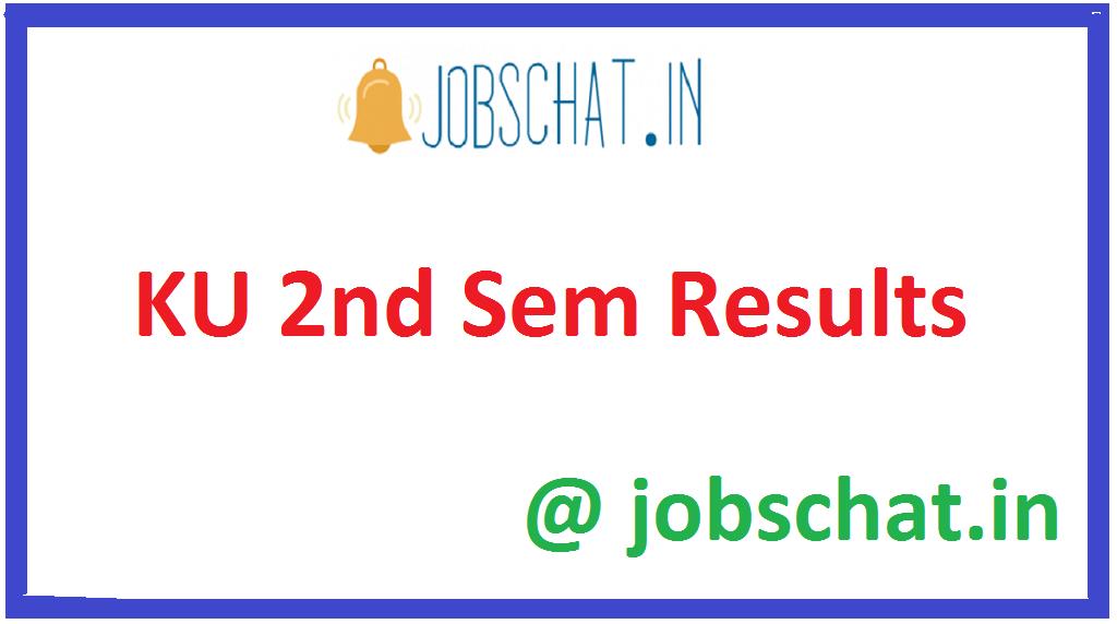 KU 2nd Sem Results