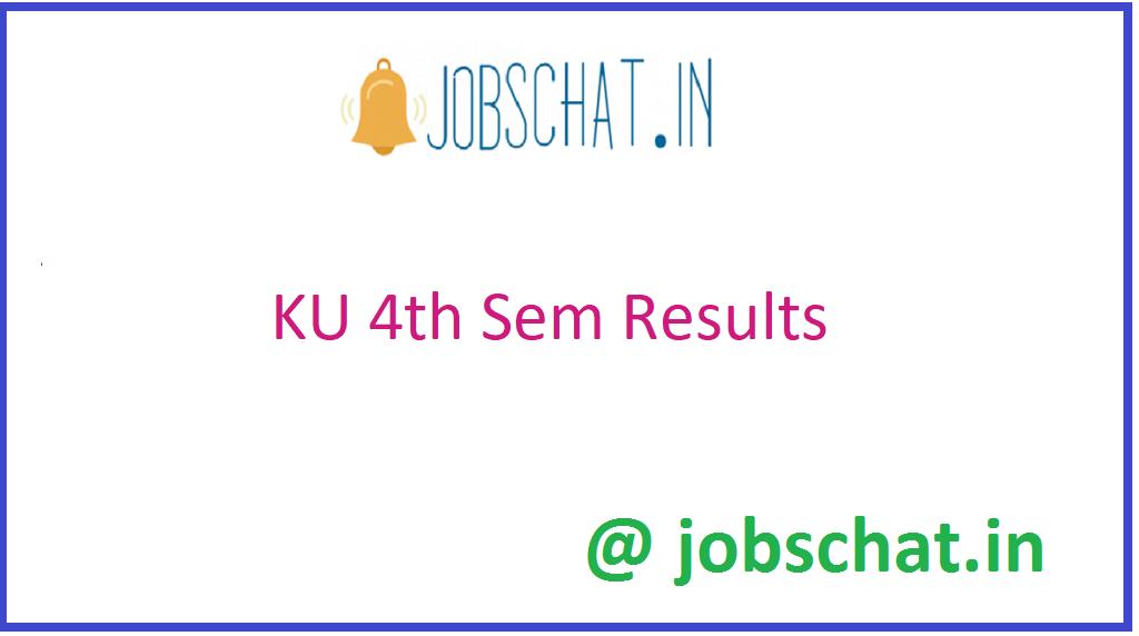 KU 4th Sem Results