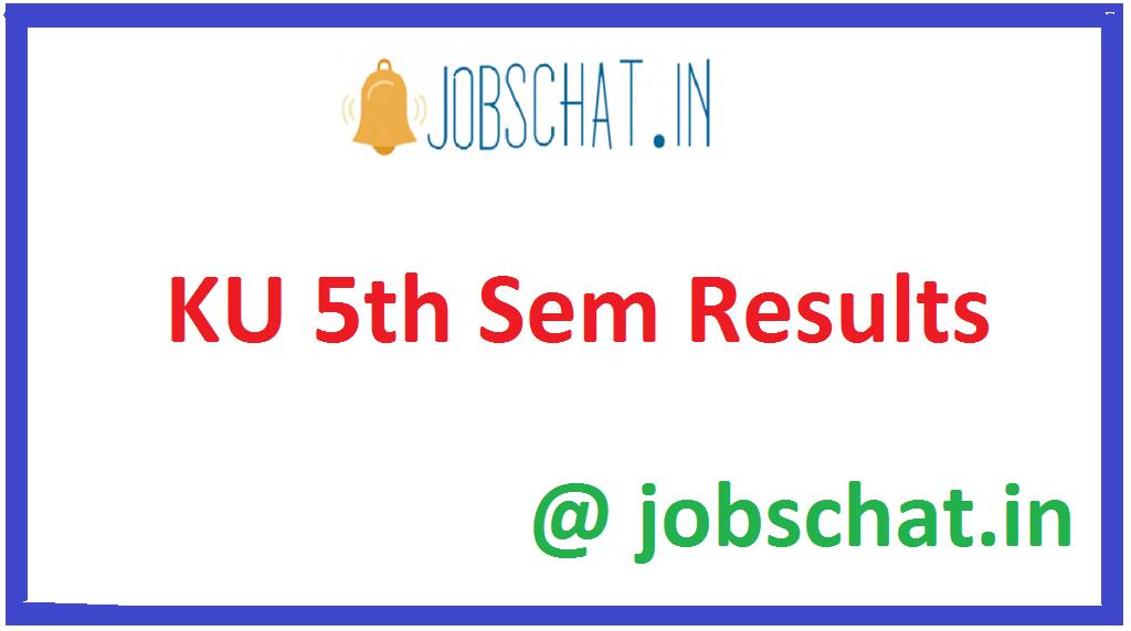 KU 5th Sem Results