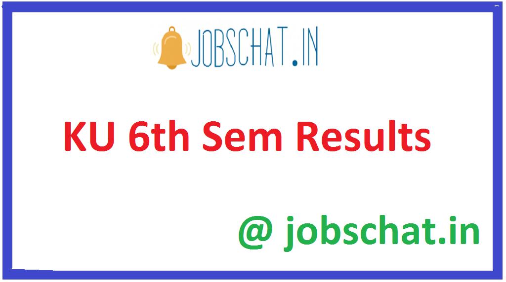 KU 6th Sem Results