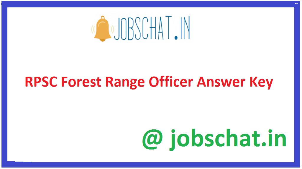 RPSC Forest Range Officer Answer Key