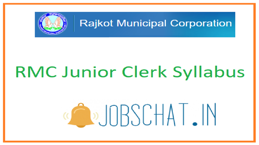 RMC Junior Clerk Syllabus