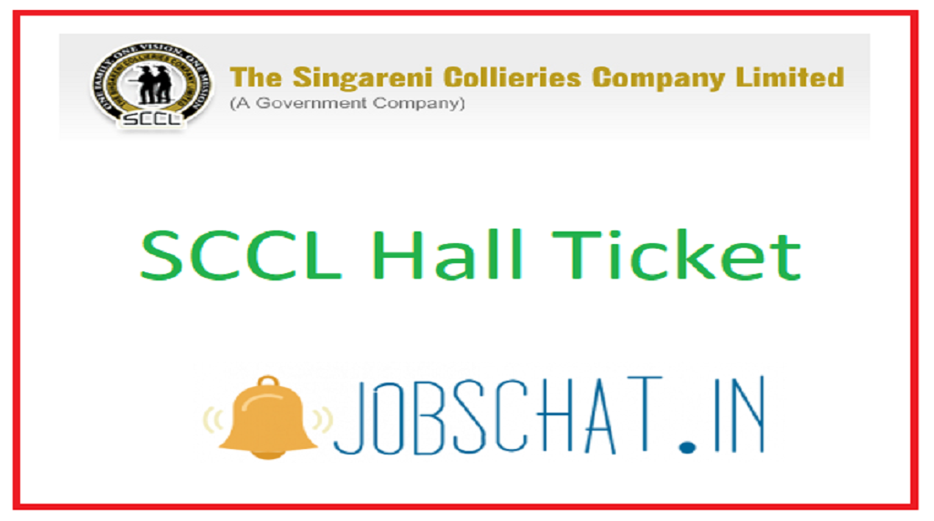 SCCL Hall Ticket