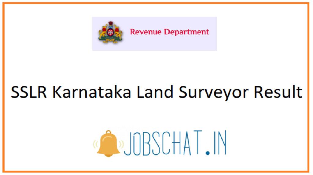 SSLR Karnataka Land Surveyor Result