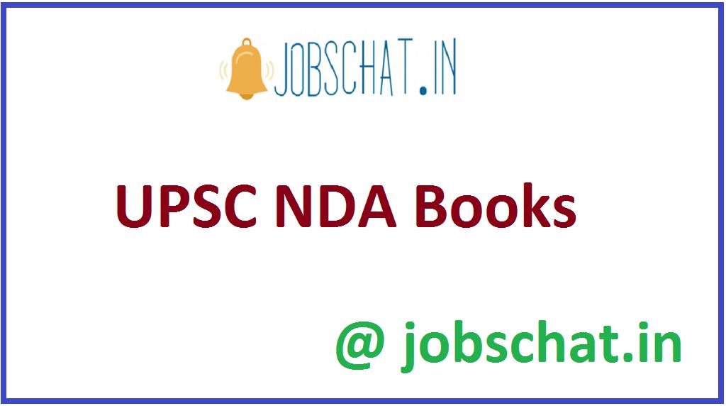 UPSC NDA Books