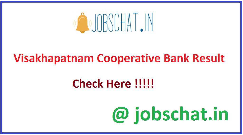 Visakhapatnam Cooperative Bank Result