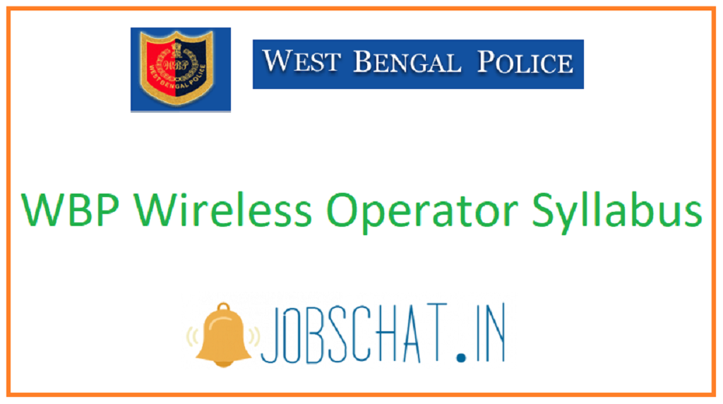WBP Wireless Operator Syllabus