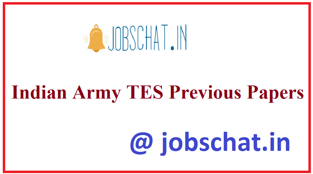 Indian Army TES Previous Papers
