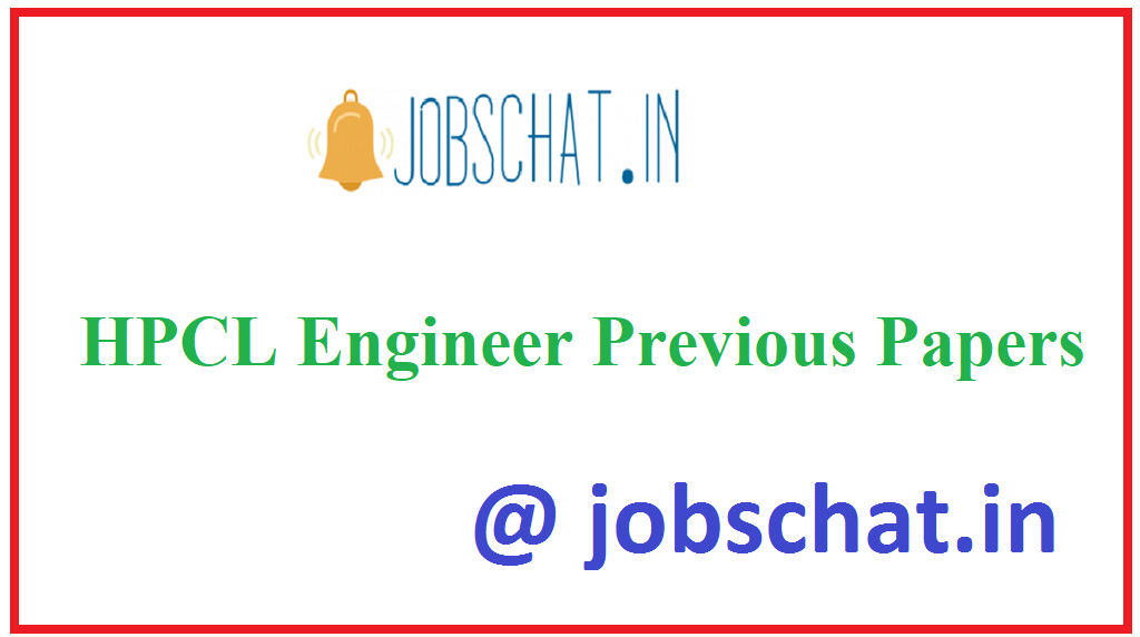 HPCL Engineer Previous Papers