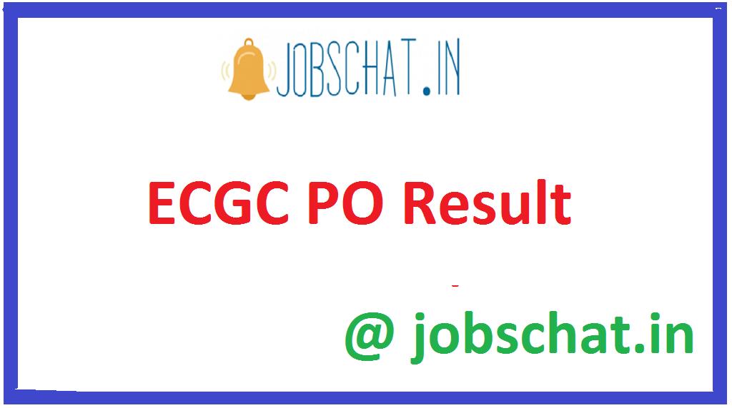 ECGC PO Result