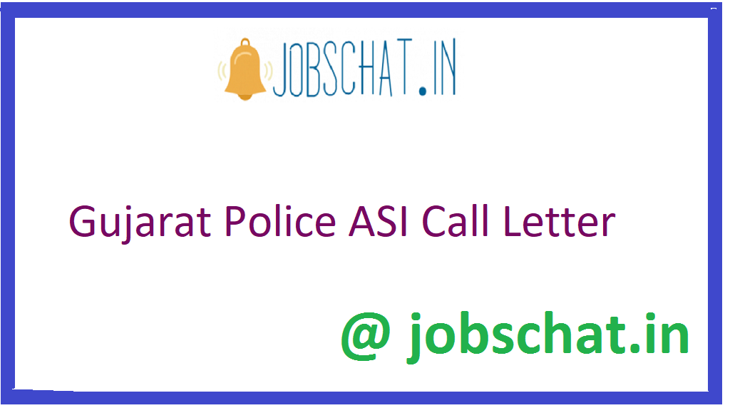 Gujarat Police Call Letter