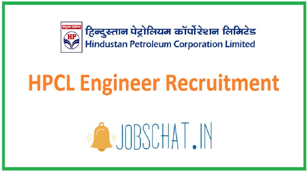 HPCL Engineer Recruitment