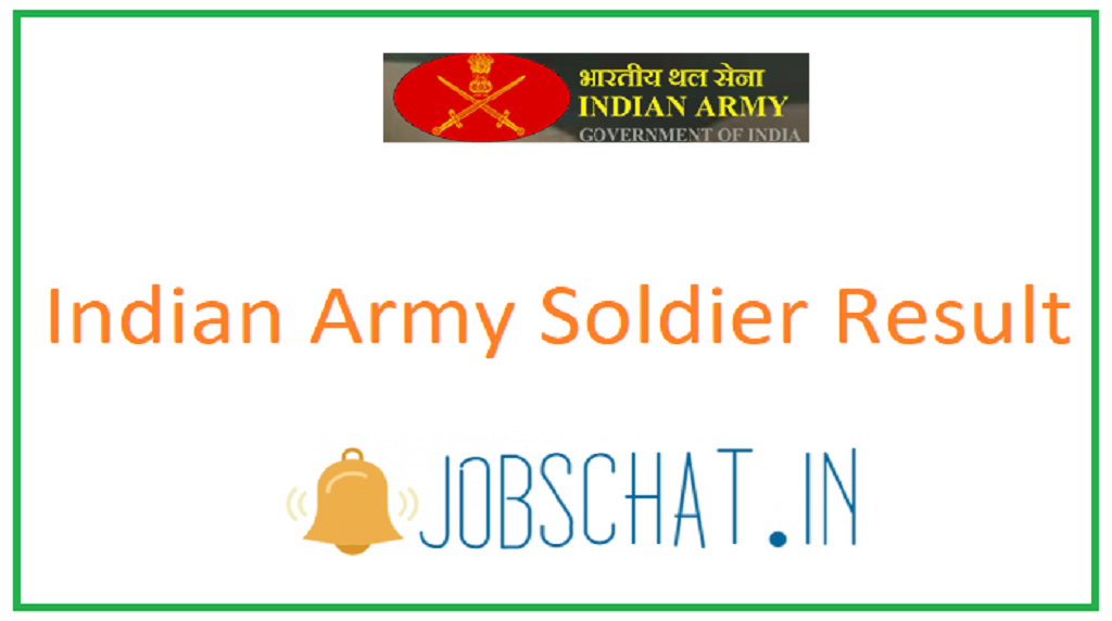 Indian Army Soldier Result