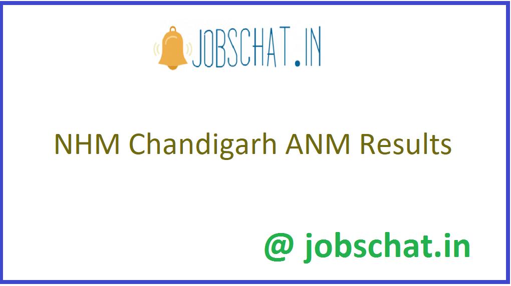 NHM Chandigarh ANM Results