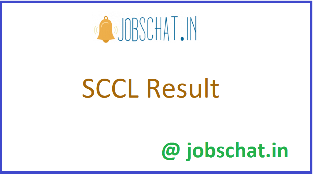 SCCL Result
