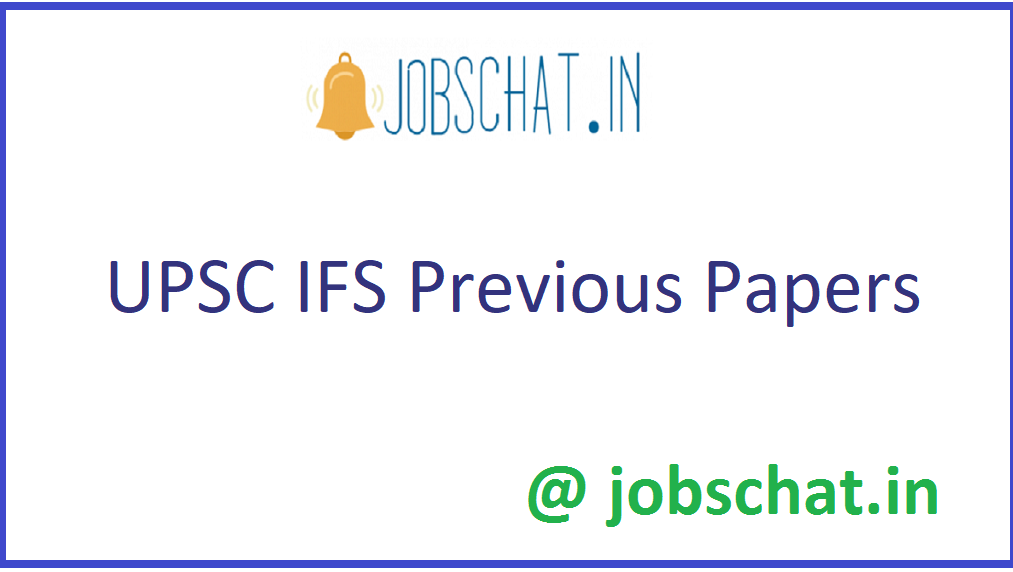 UPSC IFS Previous Papers