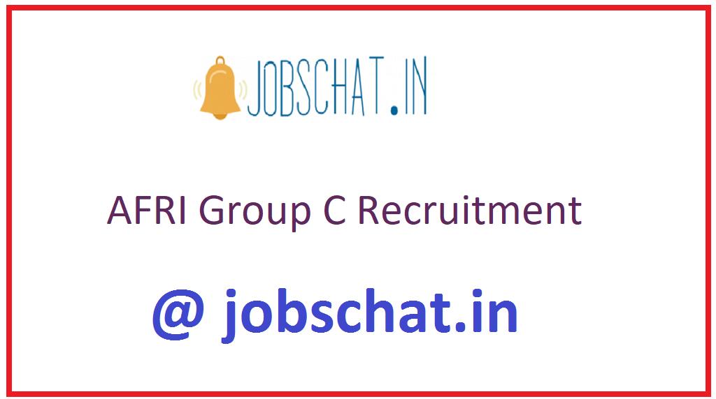 AFRI Group C Recruitment