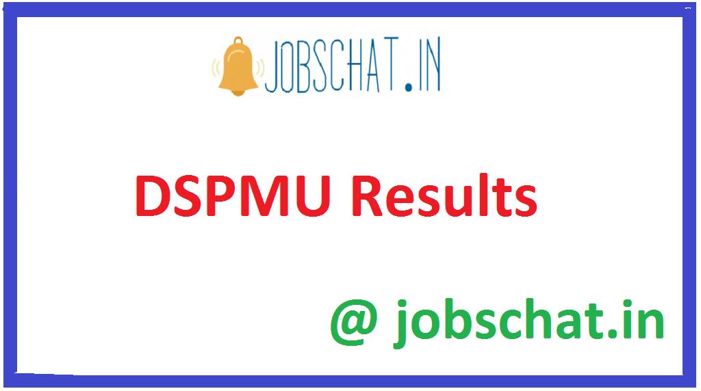 DSPMU Results