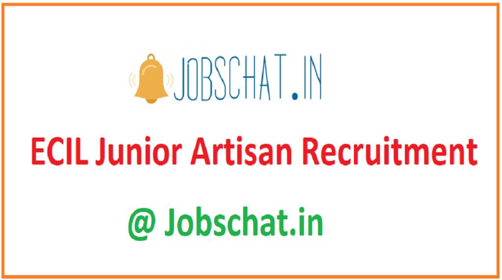 ECIL Junior Artisan Recruitment
