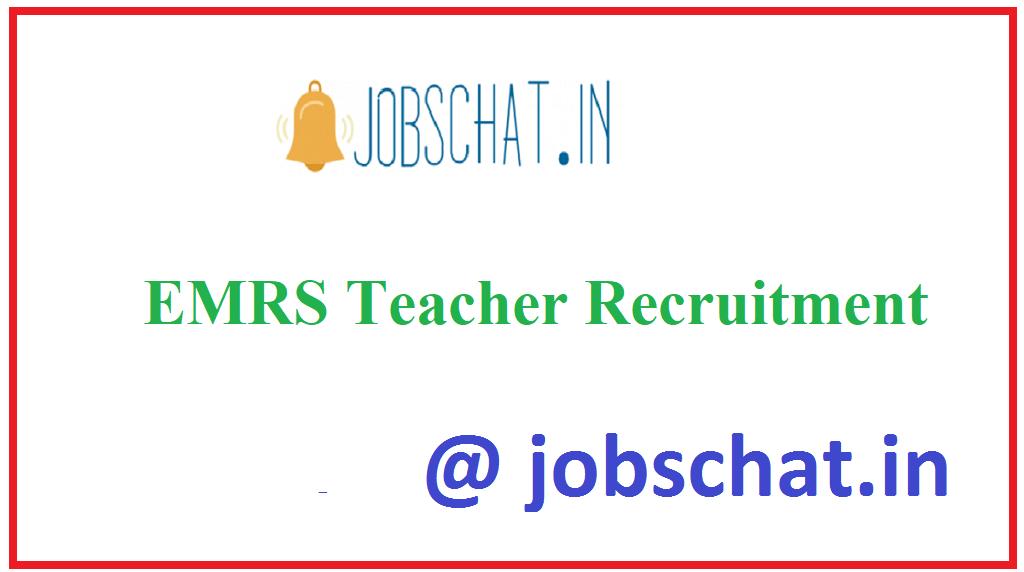 EMRS Teacher Recruitment