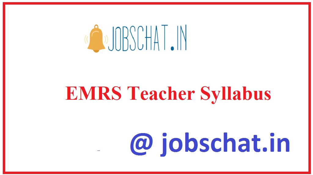 EMRS Teacher Syllabus