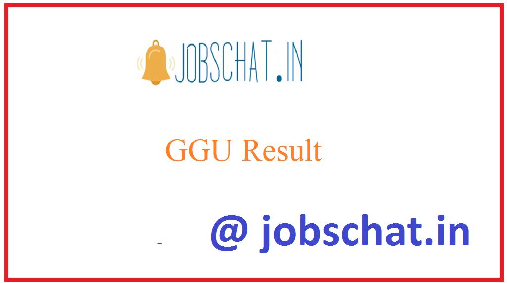 GGU Result