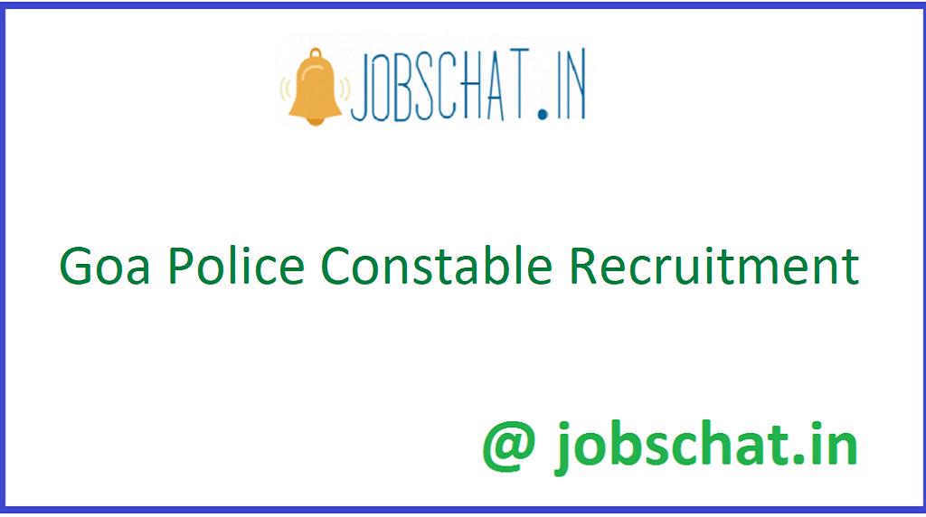 Goa Police Constable Recruitment