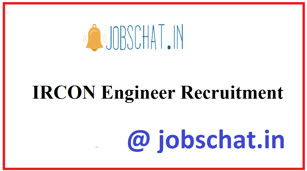 IRCON Engineer Recruitment