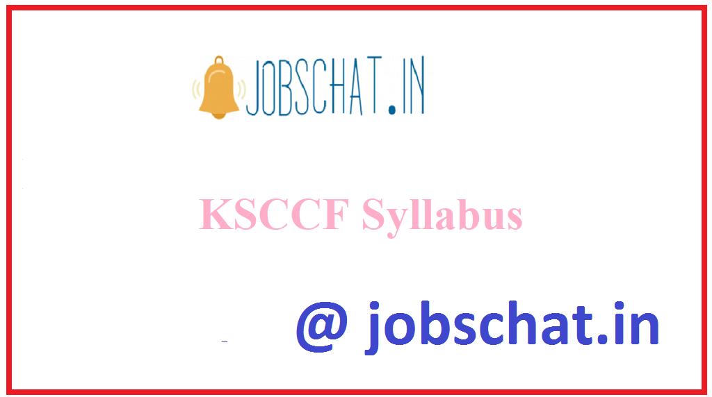 KSCCF Syllabus