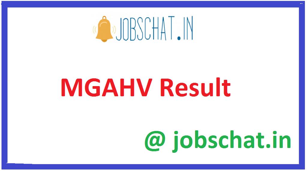 MGAHV Result