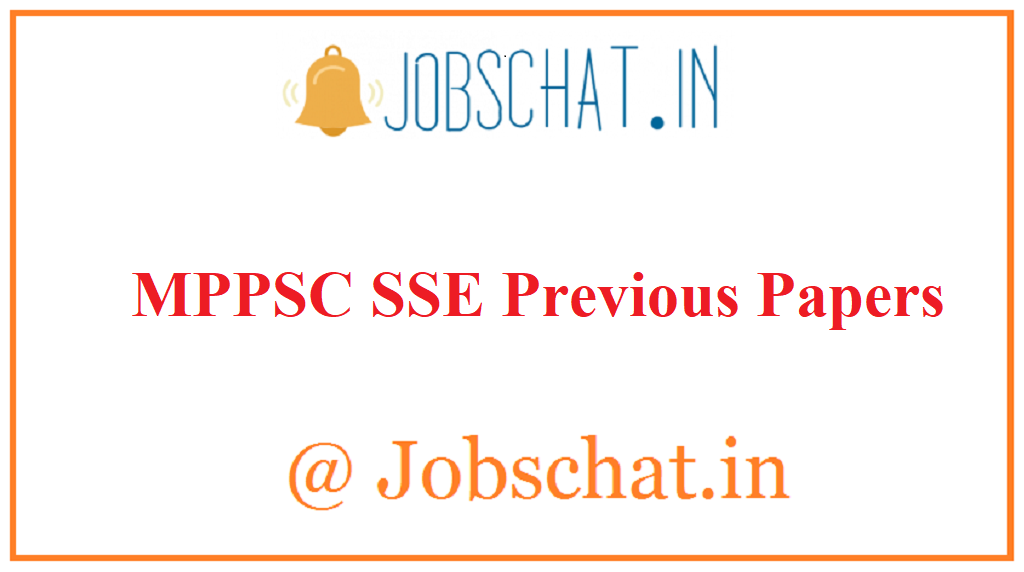 MPPSC SSE Previous Papers