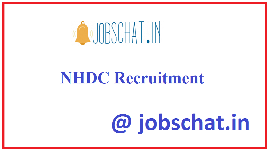 NHDC Recruitment