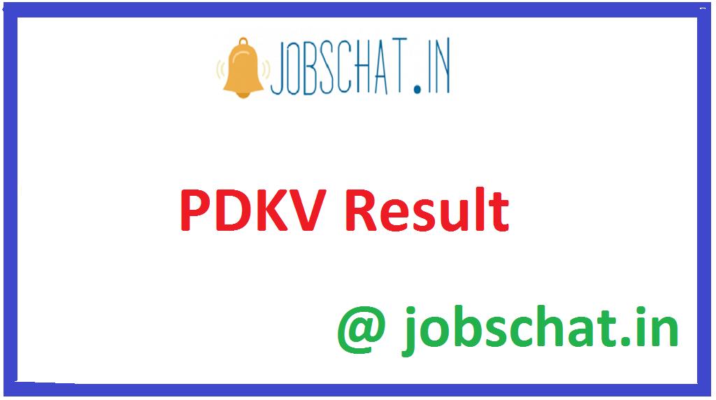PDKV Result