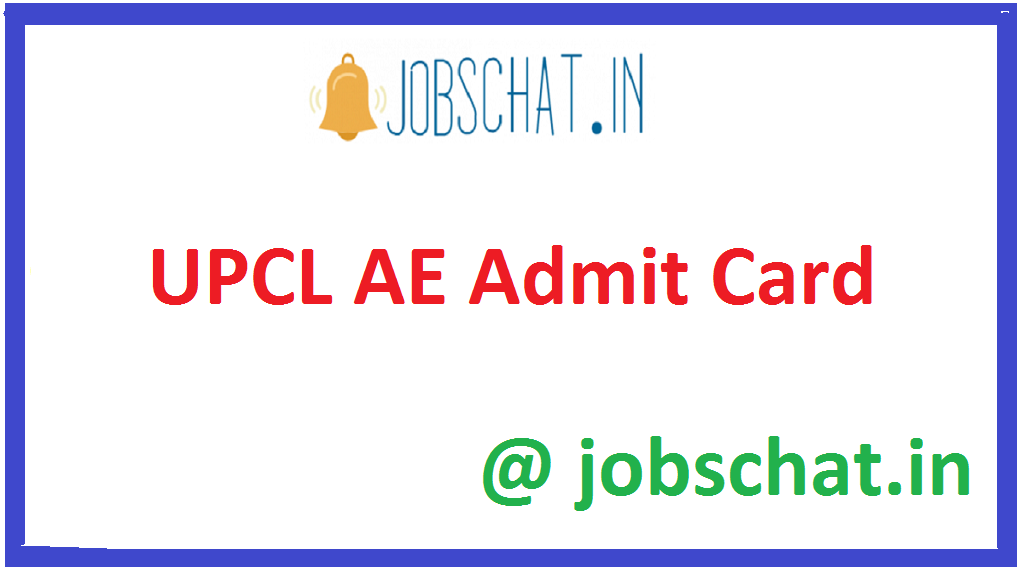 UPCL AE Admit Card