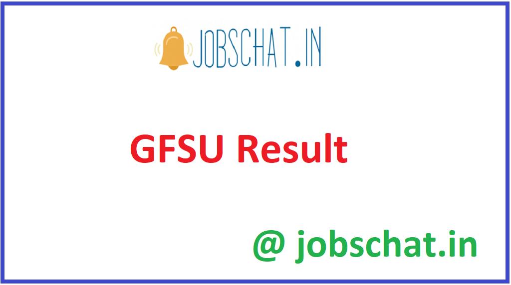 GFSU Result
